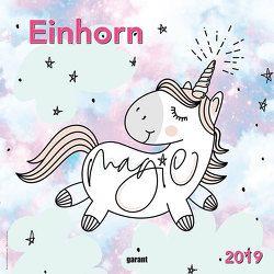Monatskalender Einhorn 2019