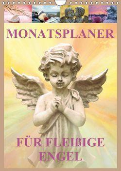 Monatsplaber für fleißige Engel (Wandkalender 2019 DIN A4 hoch) von Klattis