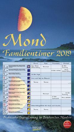 Mond-Familientimer 2019 von Korsch Verlag