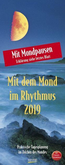 Mond-Planer 2019 von Korsch Verlag