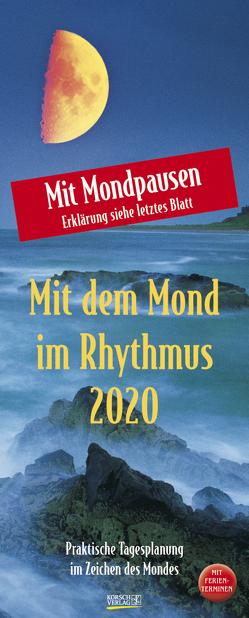 Mond-Planer 2020 von Korsch Verlag