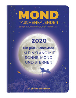 Mond Taschenkalender 2020 – Taschenkalender A6 (11 x 15) – 1 Woche 2 Seiten – 160 Seiten – mit vielen praktischen Tipps – Terminplaner von ALPHA EDITION, Mundt,  Michaela