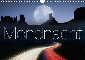 Mondnacht (Wandkalender 2018 DIN A4 quer) von Nägele F.R.P.S.,  Edmund