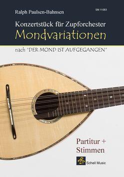 Mondvariationen für Zupforchester (mit Stimmen-Kopierlizenz) von Paulsen-Bahnsen,  Ralph