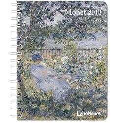 Monet Buchkalender 2018 von Monet,  Claude