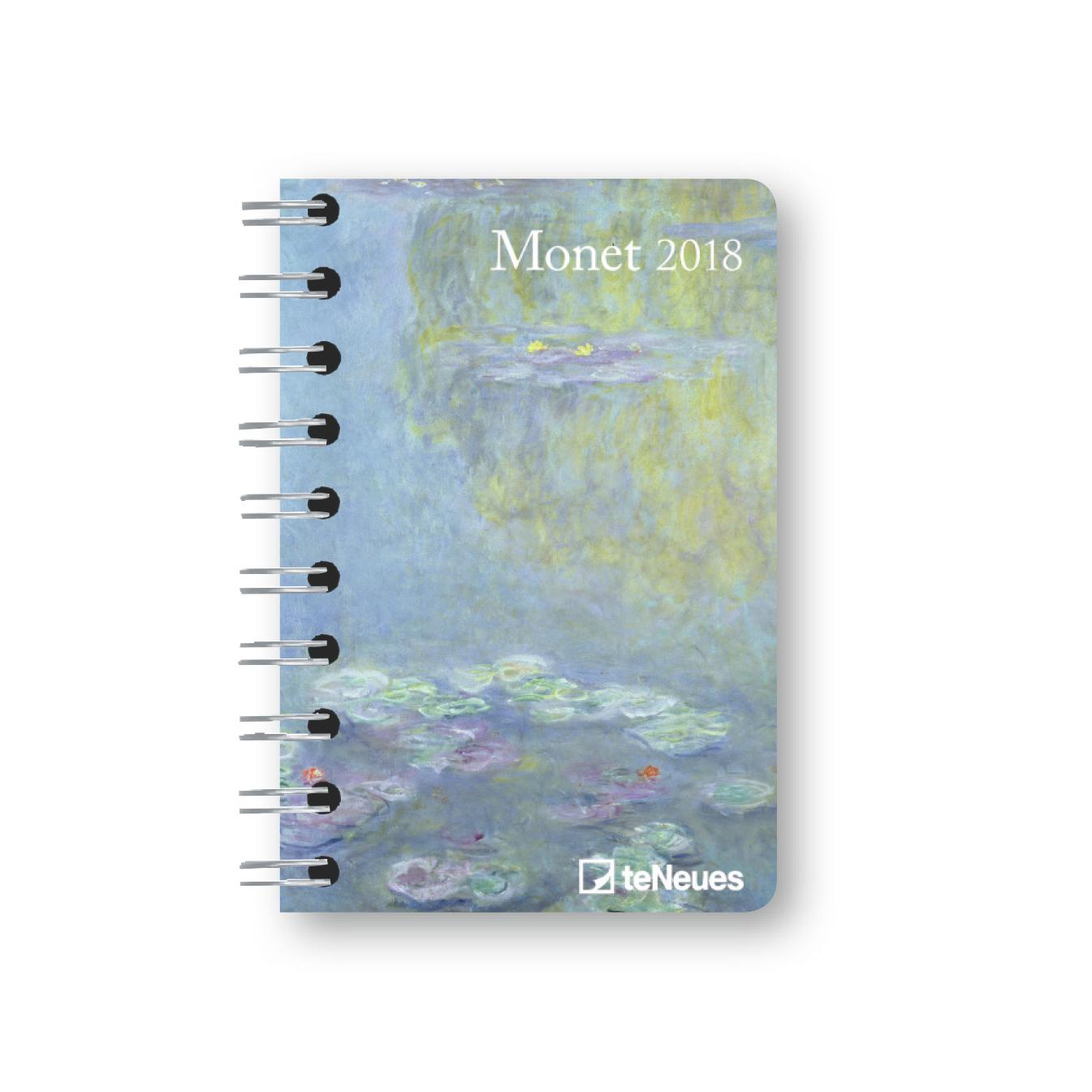 monet pocket diary 2018 von monet claude buchkalender. Black Bedroom Furniture Sets. Home Design Ideas