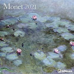 Monet 2021 – Wand-Kalender – Broschüren-Kalender – 30×30 – 30×60 geöffnet – Kunst-Kalender von Monet,  Claude