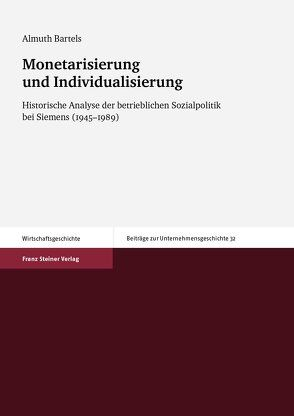 Monetarisierung und Individualisierung von Bartels,  Almuth