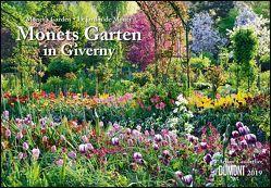 Monets Garten in Giverny 2019 – Broschürenkalender – mit Schulferienterminen – Format 42 x 29 cm von Cauderlier,  Ariane, DUMONT Kalenderverlag