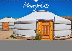 Mongolei Endlose Weite (Wandkalender 2019 DIN A3 quer) von Kurz,  Michael