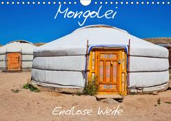Mongolei Endlose Weite (Wandkalender 2019 DIN A4 quer) von Kurz,  Michael