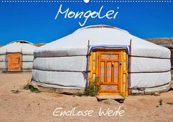 Mongolei Endlose Weite (Wandkalender 2020 DIN A2 quer) von Kurz,  Michael