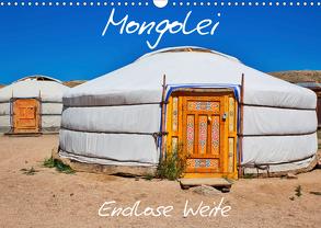 Mongolei Endlose Weite (Wandkalender 2020 DIN A3 quer) von Kurz,  Michael