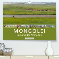 Mongolei Im Land der Nomaden (Premium, hochwertiger DIN A2 Wandkalender 2021, Kunstdruck in Hochglanz) von Tappeiner,  Kurt