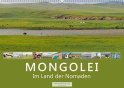 Mongolei Im Land der Nomaden (Wandkalender 2019 DIN A2 quer) von Tappeiner,  Kurt