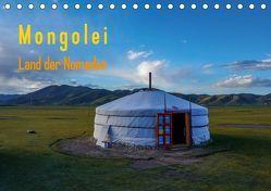 Mongolei – Land der Nomaden (Tischkalender 2019 DIN A5 quer)