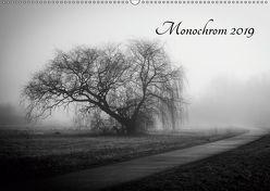Monochrom 2019 (Wandkalender 2019 DIN A2 quer)