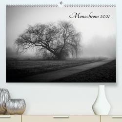Monochrom 2021 (Premium, hochwertiger DIN A2 Wandkalender 2021, Kunstdruck in Hochglanz) von Pfeiffer,  Alexander