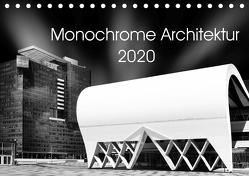 Monochrome Architektur (Tischkalender 2020 DIN A5 quer) von Wolf,  David