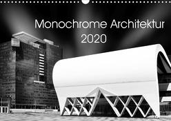 Monochrome Architektur (Wandkalender 2020 DIN A3 quer) von Wolf,  David