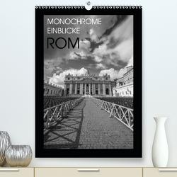 Monochrome Einblicke Rom (Premium, hochwertiger DIN A2 Wandkalender 2020, Kunstdruck in Hochglanz) von Herzog,  Gregor