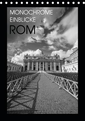 Monochrome Einblicke Rom (Tischkalender 2020 DIN A5 hoch) von Herzog,  Gregor