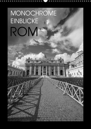 Monochrome Einblicke Rom (Wandkalender 2018 DIN A2 hoch) von Herzog,  Gregor