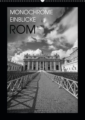 Monochrome Einblicke Rom (Wandkalender 2019 DIN A2 hoch) von Herzog,  Gregor