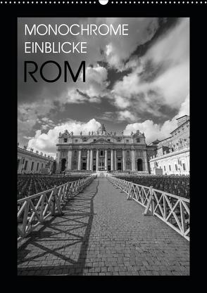 Monochrome Einblicke Rom (Wandkalender 2020 DIN A2 hoch) von Herzog,  Gregor