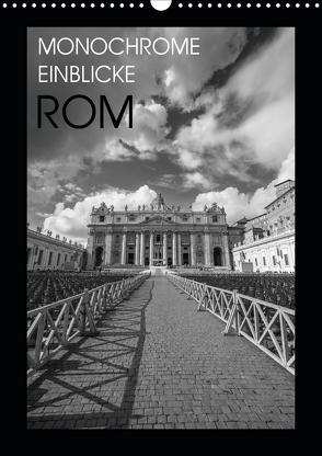 Monochrome Einblicke Rom (Wandkalender 2020 DIN A3 hoch) von Herzog,  Gregor