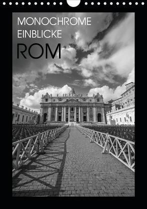 Monochrome Einblicke Rom (Wandkalender 2020 DIN A4 hoch) von Herzog,  Gregor