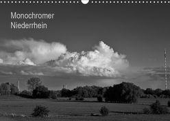 Monochromer Niederrhein (Wandkalender 2019 DIN A3 quer)