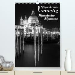 Monochromes Venedig – Klassische Momente (Premium, hochwertiger DIN A2 Wandkalender 2021, Kunstdruck in Hochglanz) von Viola,  Melanie