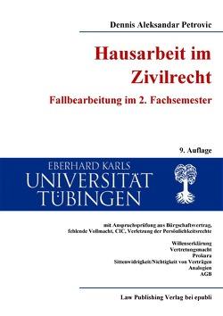 Monografien / Hausarbeit im Zivilrecht von Petrovic,  Dennis Aleksandar