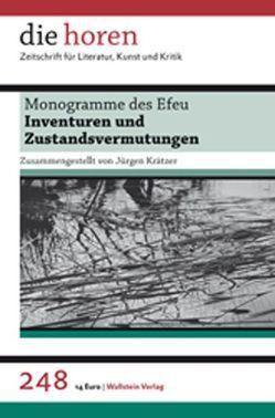 Monogramme des Efeu von Krätzer,  Jürgen