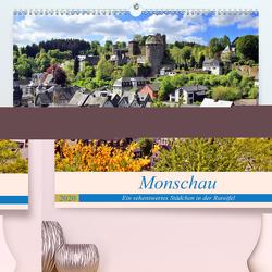 Monschau – Ein sehenswertes Städchen in der Rureifel (Premium, hochwertiger DIN A2 Wandkalender 2020, Kunstdruck in Hochglanz) von Klatt,  Arno