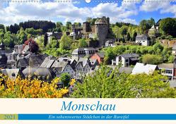 Monschau – Ein sehenswertes Städchen in der Rureifel (Wandkalender 2021 DIN A2 quer) von Klatt,  Arno
