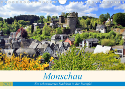 Monschau – Ein sehenswertes Städchen in der Rureifel (Wandkalender 2021 DIN A4 quer) von Klatt,  Arno