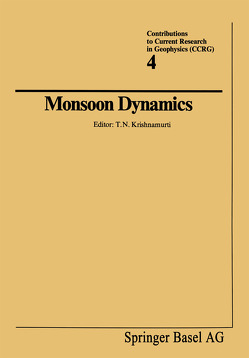 Monsoon Dynamics von Krishnamurti