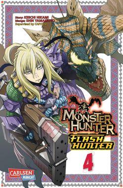 Monster Hunter Flash Hunter 4 von Hikami,  Keiichi, Peter,  Claudia, Yamamoto,  Shin