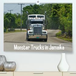 Monster Trucks in Jamaika (Premium, hochwertiger DIN A2 Wandkalender 2020, Kunstdruck in Hochglanz) von M.Polok