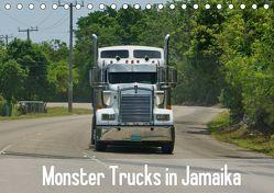 Monster Trucks in Jamaika (Tischkalender 2019 DIN A5 quer) von M.Polok