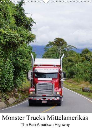Monster Trucks Mittelamerikas (Wandkalender 2018 DIN A3 hoch) von Polok,  M.