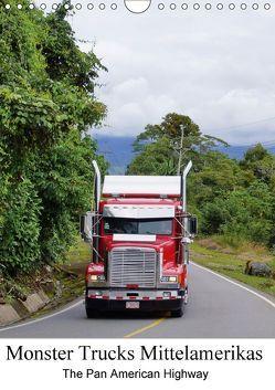 Monster Trucks Mittelamerikas (Wandkalender 2018 DIN A4 hoch) von Polok,  M.
