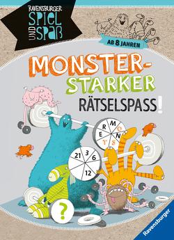 Monsterstarker Rätsel-Spaß ab 8 Jahren von Conte,  Dominique, Rothmund,  Sabine