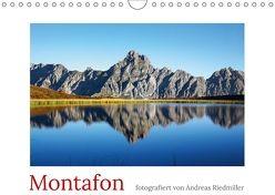 Montafon (Wandkalender 2018 DIN A4 quer) von Riedmiller,  Andreas