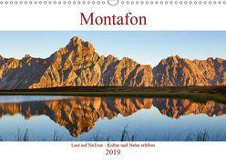 Montafon (Wandkalender 2019 DIN A3 quer)