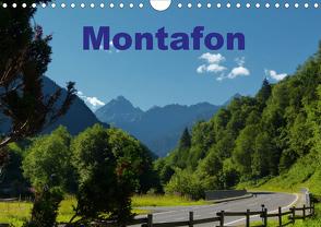 Montafon (Wandkalender 2020 DIN A4 quer) von Dürr,  Brigitte
