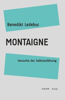 Montaigne von Ledebur,  Benedikt