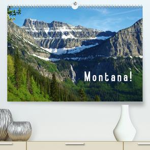 Montana! (Premium, hochwertiger DIN A2 Wandkalender 2021, Kunstdruck in Hochglanz) von Del Luongo,  Claudio